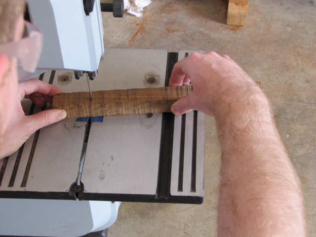 how a non-tuned bandsaw cuts