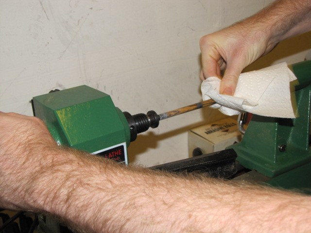 CA Glue Finish - Step 4 - Applying a CA Glue Finish to Your