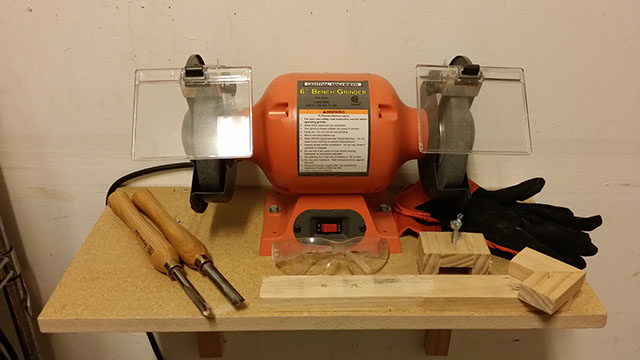 things you'll need to sharpen lathe tools