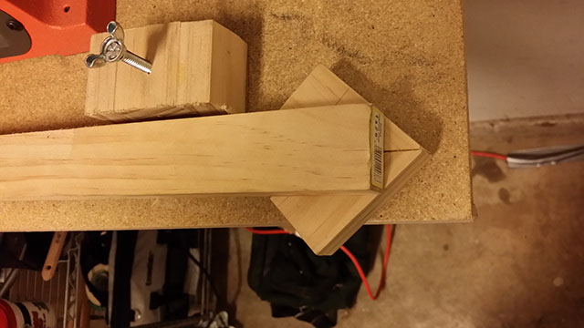 the insert/base for my sharpening jig bottom